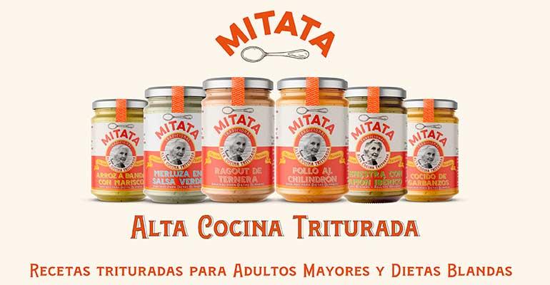 Nace Mitata, recetas de la abuela trituradas para adultos