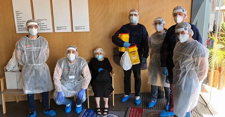 El proyecto Branyas empieza los análisis de seroprevalencia para determinar la inmunidad frente al COVID-19 en residencias geriátricas