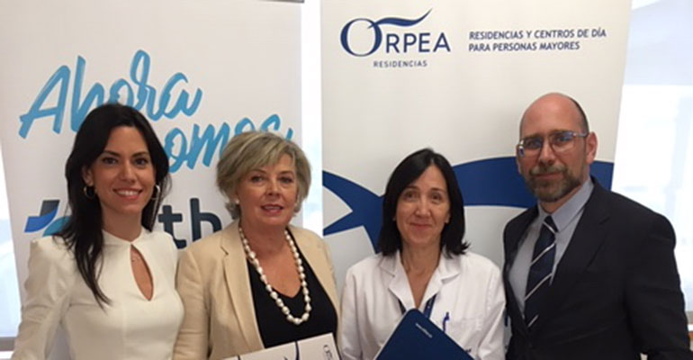 Orpea y el Hospital Vithas Nisa Pardo de Aravaca firman un acuerdo para promover la continuidad asistencial en los mayores