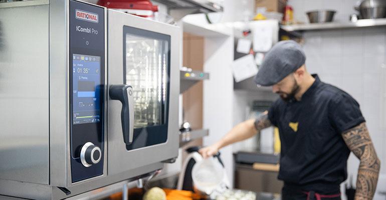 El iCombi Pro de Rational, el nuevo estándar en la cocina profesional