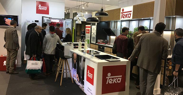 Teka colabora con sus distribuidores presentes en SICI 2019