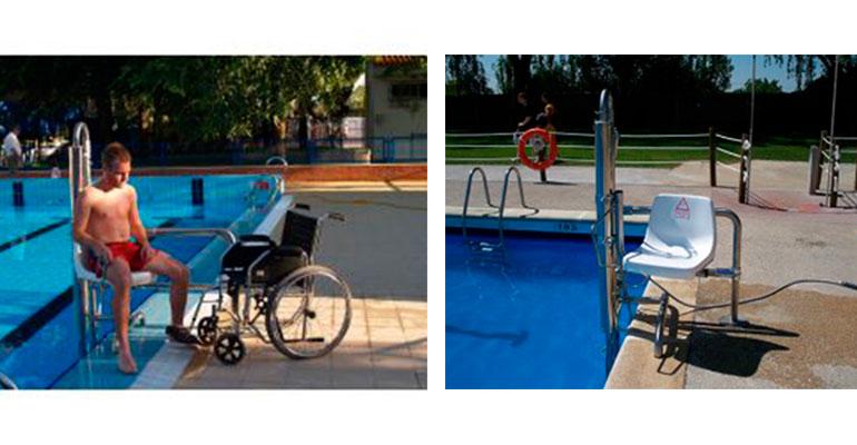 Elevador para piscinas AQ-LIFT