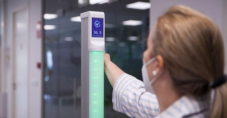B+Safe presenta un sistema de control de temperatura rápido y sin contacto