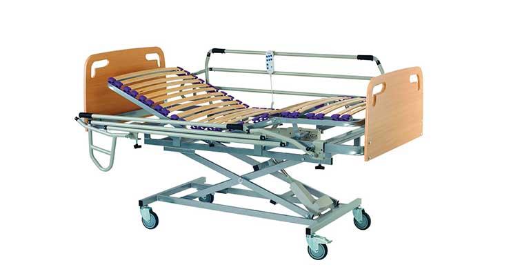 Camas geriátricas articuladas eléctricas de SIAC