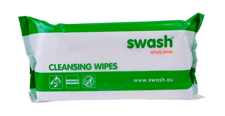 Swash Cleansing Wipes, para el cuidado de la incontinencia