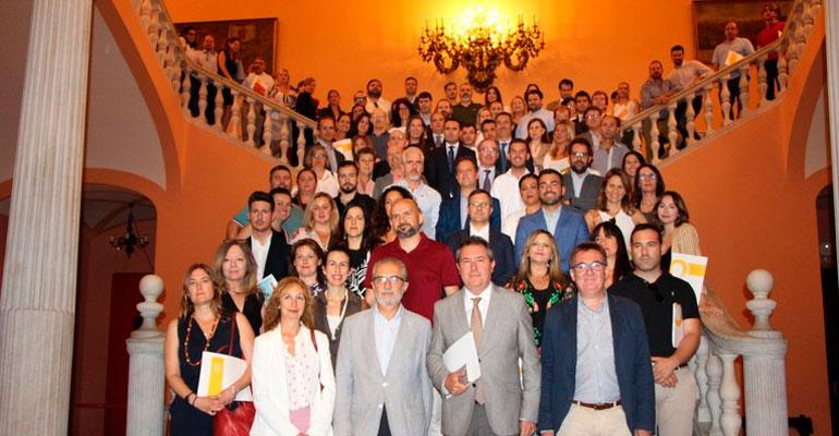 La división domiciliaria de DomusVi participa en el proyecto Forma Empleo del Ayuntamiento de Sevilla