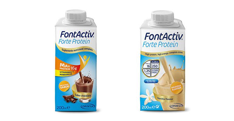 FontActiv Forte Protein, el nuevo suplemento nutricional con un extra de proteínas y más fibra