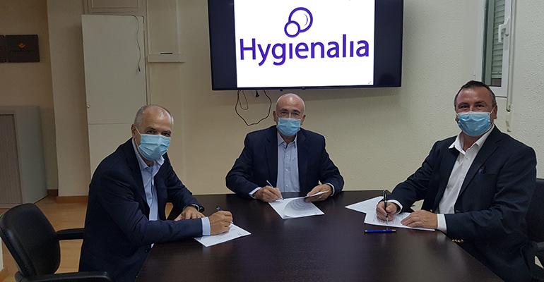 ASFEL, AEFIMIL y Feria Valencia firman el acuerdo de colaboración de Hygienalia para las próximas tres ediciones