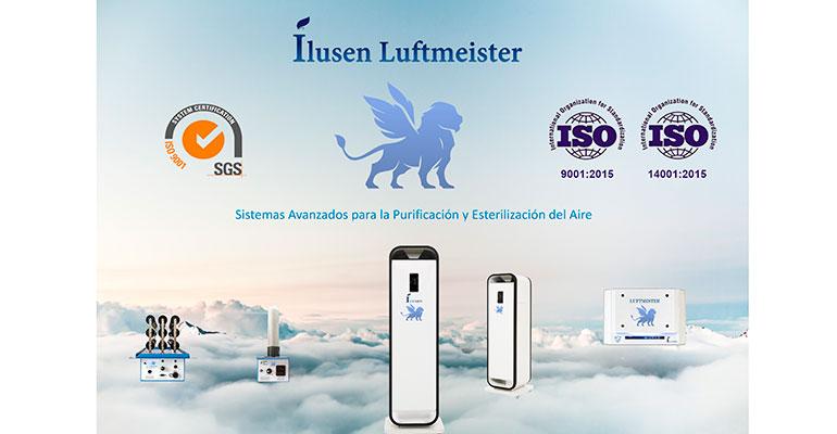 Ilusen Luftmeister lanza la nueva gama de purificadores de aire profesionales