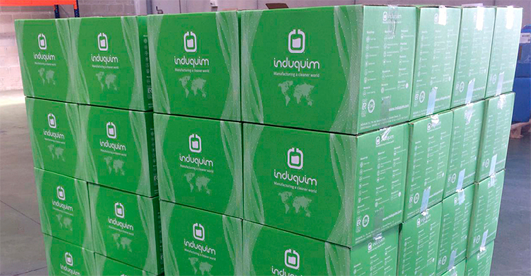 Induquim mejora el packaging de sus productos