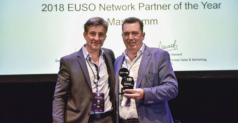 Masscomm recibe el premio internacional Networking Partner en Connex 19