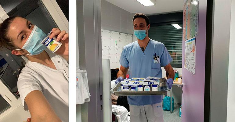 Lactalis Nestlé ha entregado ya 35.000 yogures Nestlé a hospitales y colectivos en riesgo de exclusión