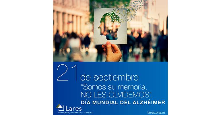 Lares no olvida a los enfermos de Alzheimer