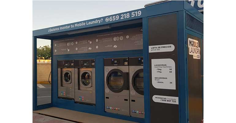 La nueva mini lavandería portátil de Girbau se presenta en Alicante