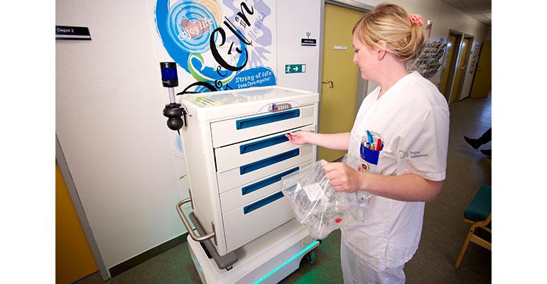 MiR facilita sus robots móviles autónomos para hospitales y residencias