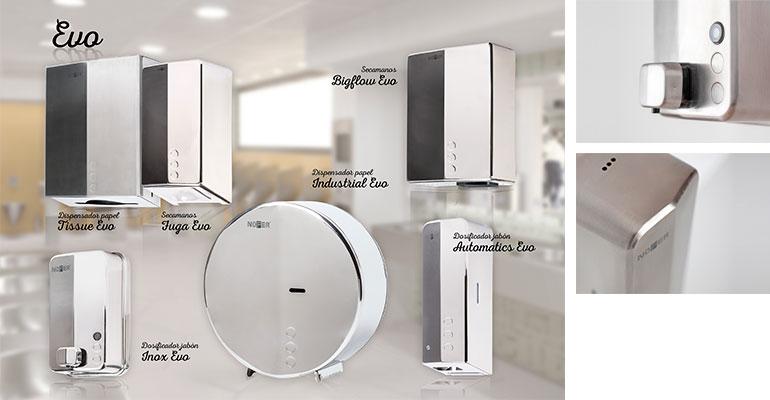 Nofer presenta en su catálogo 2019 la nueva serie Evo, diseñada por el estudio Alegre Design