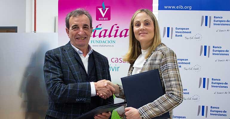 El BEI otorga 57,5 millones de euros a Vitalia Home para la construcción de 19 residencias para mayores