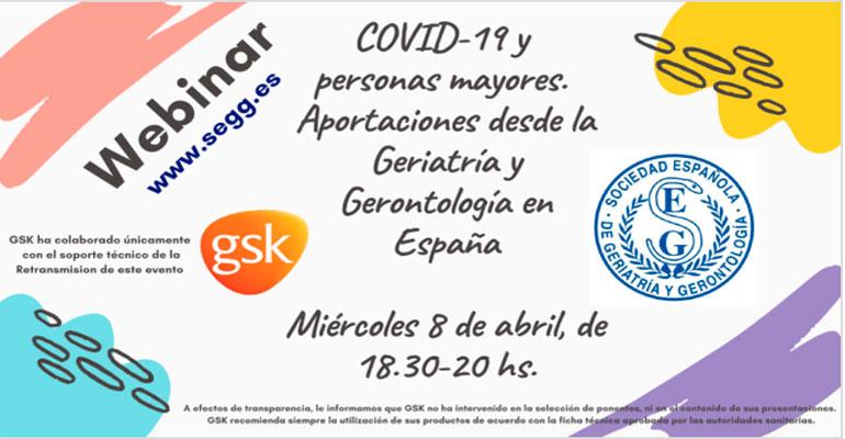 SEGG dará un webinar sobre el Covid-19