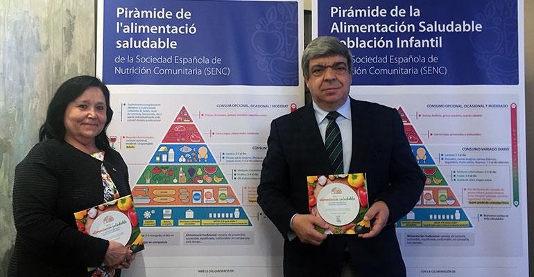 Presentan la nueva Guía de la Alimentación Saludable, marco de referencia de la dieta y estilo de vida mediterráneo